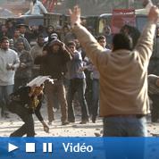 Scènes d'extrême violence place Tahrir