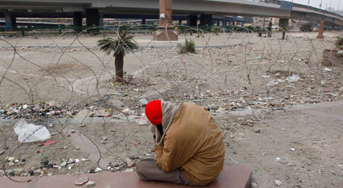 Les violences semblent oubliées pour le moment, mais le bras de fer entre le régime et ces opposants d'un genre nouveau continue. (Crédits photo: Reuters)