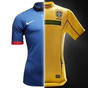 France-Brésil, aussi une affaire de maillot