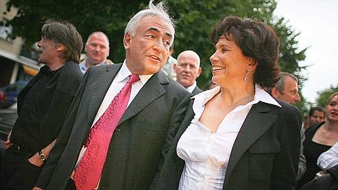 «Pour ce qui me concerne, je ne souhaite pas qu'il fasse un second mandat» à la tête du FMI, a confié Anne Sinclair.