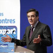 Chute de l'export: «pas une fatalité» pour Fillon