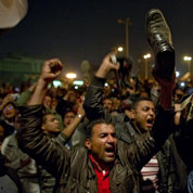 Place Tahrir, une foule immense et survoltée