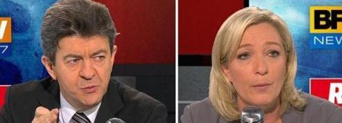 Mélenchon - Le Pen : les petites phrases du face-à-face des deux Fronts
