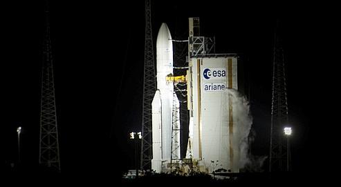 La 200e fusée Ariane lance le deuxième cargo de l'Europe