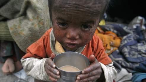Un enfant de Noida, en Inde.