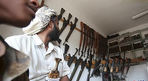 Certains djihadistes auraient décidé de se mettre à l'abri en zone urbaine, où des cellules dormantes ont vraisemblablement été formées. Crédits photo : Khaled Abdullah Ali Al Mahdi/Reuters