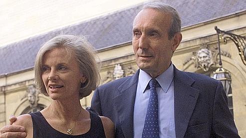 Elisabeth Guigou et son mari, délégué général de l'Ipemed.