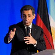 Sarkozy lance sa présidence du G20