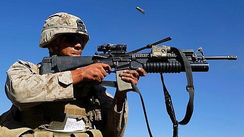 U.S. Marine.
