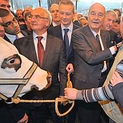 Chirac en vedette du Salon de l'agriculture