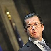 Le blason ternidu baron Guttenberg