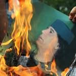 Manifestation anti-Kadhafi en Malaisie.