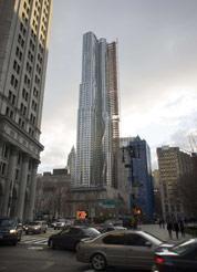 La tour Gehry, symbole du retour de New York