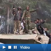 La marche des opposants à Kadhafi