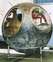 La capsule Vostok 3K1-2. (Crédit photo: Sotheby's)