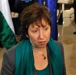 Catherine Ashton assure que l'UE va agir contre le régime de Kadhafi.