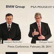 PSA et BMW défient Toyota dans l'hybride
