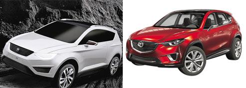Les passions croisées de Mazda et Seat pour le SUV