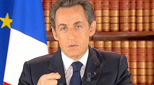Nicolas Sarkozy a rappelé lundi au groupe de députés de l'UMP qu'il vaut mieux «ne pas partir en favori».