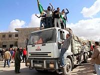 Des pro-Kadhafi manifestent au sud de Tripoli.