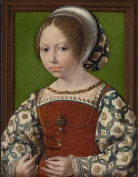 Une jeune princesse. (National Gallery, London )