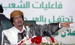 Kadhafi a prononcé un discours pour le 34e anniversaire de l'établissement du «pouvoir des masses» en Libye. Crédits photo : AFP