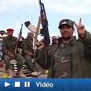 Soldats improvisés face aux avions de Kadhafi