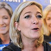 Un sondage met Le Pen en tête du 1er tour