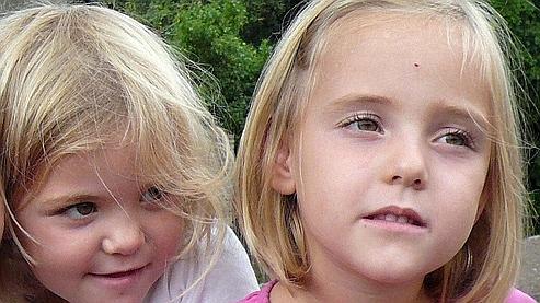 Livia (à droite) et Alessia (à gauche).