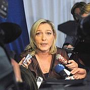 Le Pen ne compte pas «faire de la figuration»