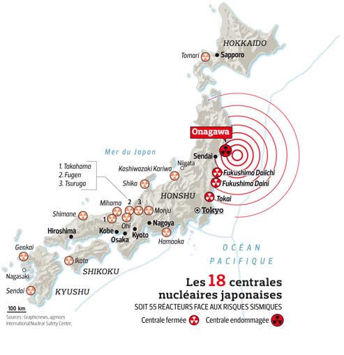 Fukushima/une secousse de 8,9 ébranle l'économie nippone. 8c4f1590-4d86-11e0-8b04-343caba7e133