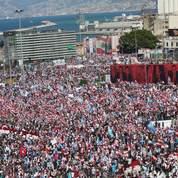 Les Libanais défilent contre le Hezbollah