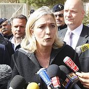 Marine Le Pen en visite à Lampedusa