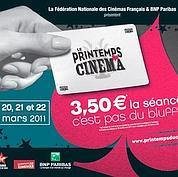 Le Printemps du Cinéma, c'est du 20 au 22 mars !