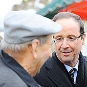 2012 : Hollande joue sa candidature en Corrèze