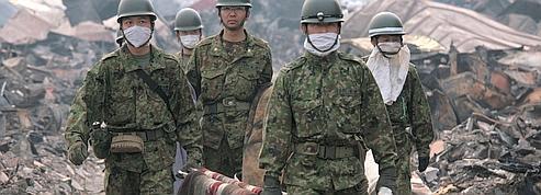 Les forces d'autodéfense japonaises <br/>en première ligne<br/>