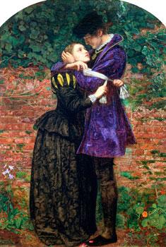 Cliches Romantiques Dans Un Jardin Anglais