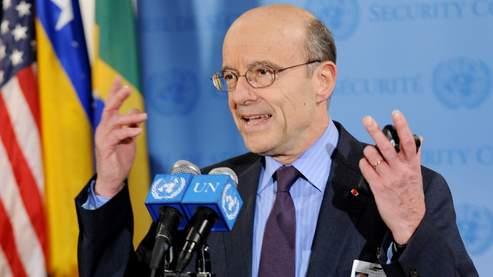 «Ce sera l'honneur du Conseil de sécurité d'avoir fait prévaloir en Libye la loi sur la force, la démocratie sur la dictature, la liberté sur l'oppression», a déclaré Alain Juppé à New York.