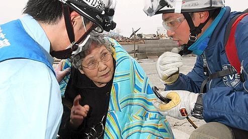 Japon : une grand-mèreet son petit-fils secourus