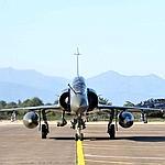 Un mirage 2000 lundi sur la base de Solenzara.