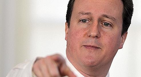 Cameron n'exclut pas l'envoi de troupes au sol