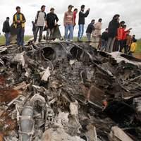 Un avion de chasse américain F-15 s'est écrasé dans la nuit.