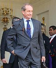 Le ministre de la Défense, Gérard Longuet.