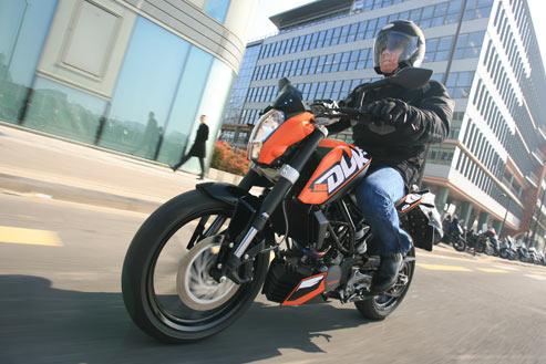 KTM 125 Duke: tout d'une grosse