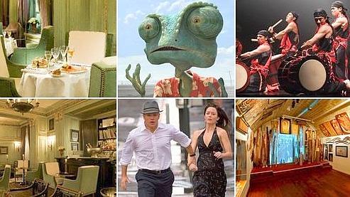 Le Dokhan's (DR), Rango (Paramount Pictures) et L'Agence (UPI), Yamato (Lucienne van der Mijla) et le Musée d'art aborigène (Julio Piatti).