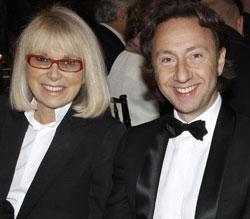 Mireille Darc et Stéphane Bern (Bertrand Rindoff Petroff/Agence Angeli)