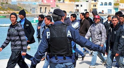 Immigration : les habitants de Lampedusa exaspérés