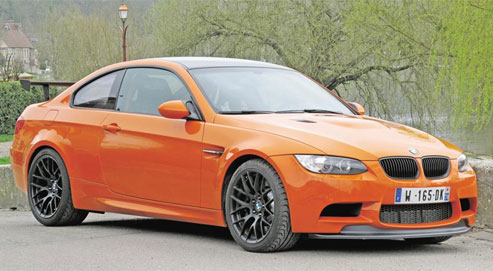 BMW M3 GTS : orange mécanique