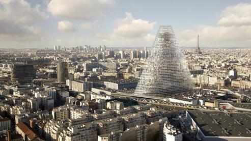 Feu vert pour une tour de 180 mètres à Paris