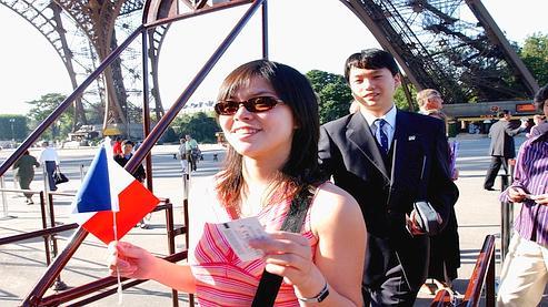 Les touristes chinois vont supplanter les Japonais